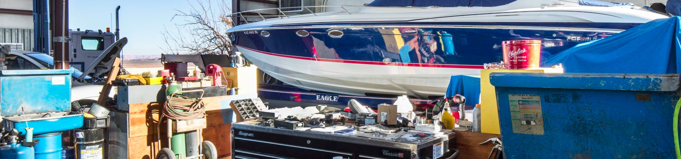 Mechanical Services offered at Lake Powell Marinas