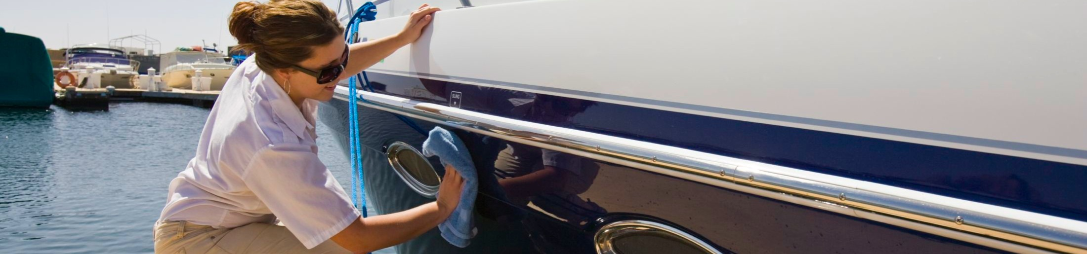 Boat Cleaning at Lake Powell Marinas