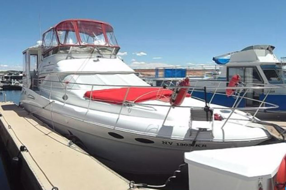 1998 Sea Ray 420 Aft Cabin 46 Ft Boat