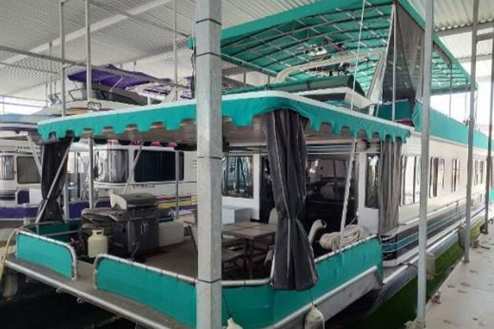 1990 Stardust Cruisers 73X16 Houseboat 73 Ft